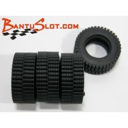 Neumáticos Raid 25 x 10 mm Trail Mitoos (4)