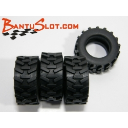 Neumáticos Raid 25 x 10 mm Traction Mitoos (4)