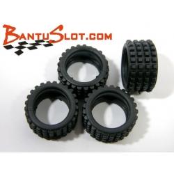 Neumáticos Rally - Raid 19 x 10 mm Squared Mitoos (4)