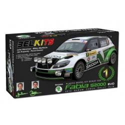 Skoda Fabia S2000 EVO Czech Rally 2012 Belkits
