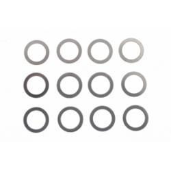 Separadores guía 3/16 de 0.1, 0.2 y 0.5 mm Scaleauto (4+4+4)