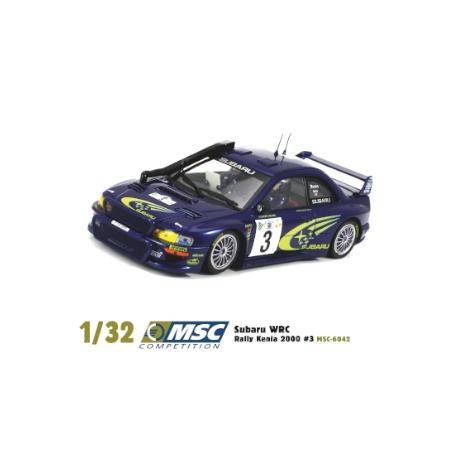 Subaru WRC Rally Kenia 2000 #3 Richard Burns MSC