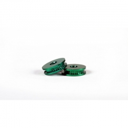 Polea aluminio 7 mm diámetro eje 2.38 mm 0132 (2)