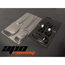 Interior + cristales lexan 207 1/24 APO Racing