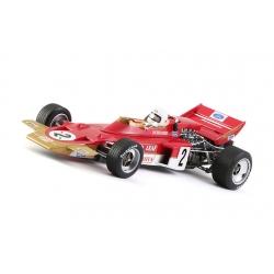 Lotus 72 GP Hockenheimring 1970 N2 J.Rindt Policar