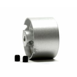 Llanta aluminio 21x13 mm eje 3 mm Scaleauto (2)
