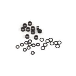Separador plástico 2,5 y 5,7 mm para eje 2.38 mm Sloting Plus (40)