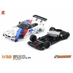 BMW Z4 GT3 Versión Racing AW N19 Schubert Motorsport white Scaleauto
