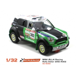 Mini All4 White Kit Scaleauto