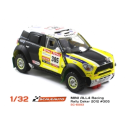 Mini All4 Racing Dakar 2012 Winner N302 Peterhansel Scaleauto