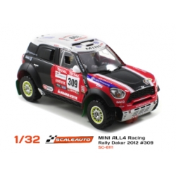 Mini All4 Racing 2nd Dakar 2012 N305 Nani Roma Scaleauto