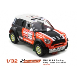 Mini All4 Racing Dakar 2012 N309 Scaleauto
