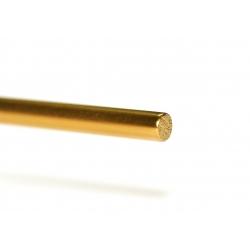 Eje hueco acero con tratamiento de Titanio 2.38 x 55 mm Sloting Plus