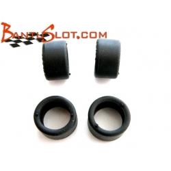 Neumático slick RT 19x10,5 mm. Scaleauto (4)