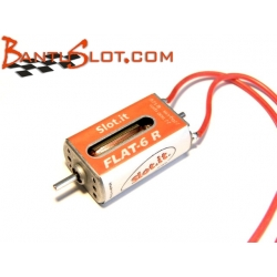Motor Flat-6R 22K eje 7.3 mm Slot.it