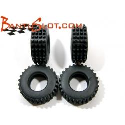 Neumáticos Raid 28 x 10 mm taco piramidal Mitoos (4)