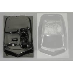 Cockpit lexan y cristales BMW Z4 GT3 Scaleauto