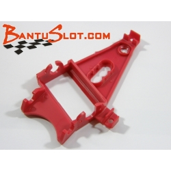 Soporte motor triangular en ángulo extraduro rojo EVO NSR