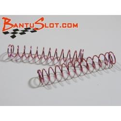 Muelles duros amortiguadores standard rojos Mitoos (2)