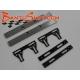 Soportes carrocería acero y carbono 7 mm. APO Racing