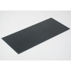 Placa de fibra de carbono 140x62x1mm Scaleauto