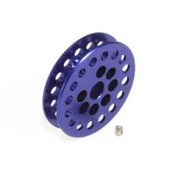 Polea dentada 16z 1,8 mm eje 2.38 mm azul Scaleauto
