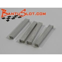 Piezas soporte delantero eje nylon APO (4)