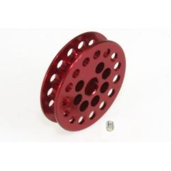 Polea dentada 15z 1,8 mm eje 2.38 mm roja Scaleauto