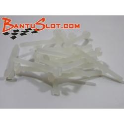 Tornillos M2x20 mm. de nylon (20)