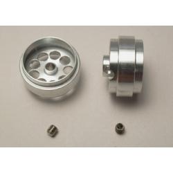Llanta aluminio 19 x 10.2 mm aligeradas eje 3mm Scaleauto (2)