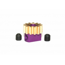Piñón extraíble latón 13z x 7.5 mm Sloting Plus