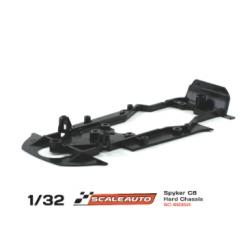 Chasis R para De Tomaso Pantera Gr.3 duro negro Scaleauto