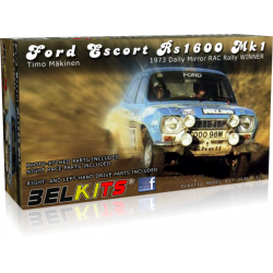Ford Escort RS1600 MKI Winner RAC Rally 1973 Makinen 1/24 Belkits