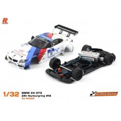 BMW Z4 GT3 Versión Racing AW N19 Schubert Motorsport white Scaleauto