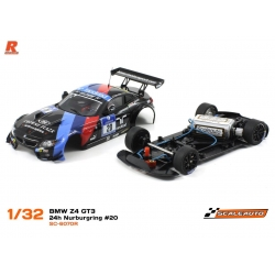 BMW Z4 GT3 Versión Racing AW N19 Schubert Motorsport black Scaleauto