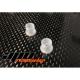Casquillos de nylon para rodamientos de 6 mm.