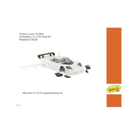 Carrocería McLaren F1 GTR sin pintar Slot.it