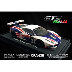 Carrocería GT3 Italia blanco Black Arrow