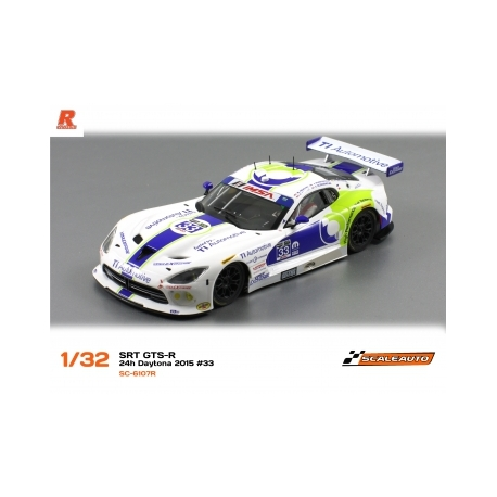 Dodge Viper SRT GTS-R - Versión Racing AW - N53 24H Le Mans 2013 Scaleauto