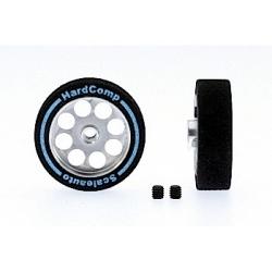 Wheel 25,5x8mm. axle 3 mm. ProComp-2 Hub 19 mm. lighter Scaleaut