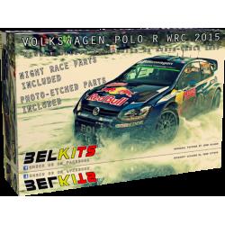 Kit 1/24 Volkswagen Polo R WRC Ogier/Latvala/Mikelsen Belkits