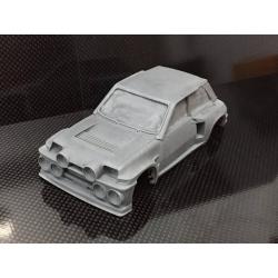 Carrocería Renault 5 Maxi Turbo 1/24 resina M-Slot