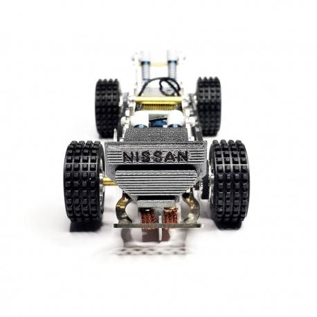 Chasis 75 mm Raid completo RTR Mitoos