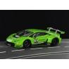 LB Huracán GT3 Presentation Green Racer Sideways
