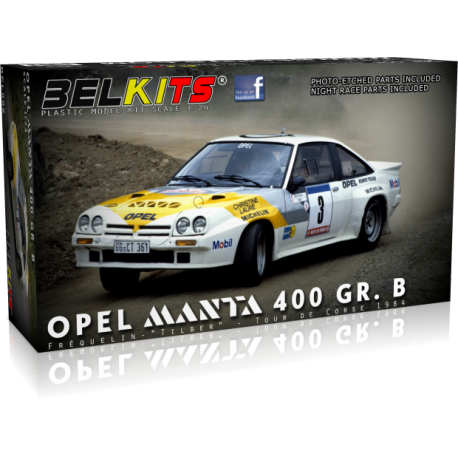 Ford Escort RS1600 MKI Winner RAC Rally 1972 Clark 1/24 Belkits