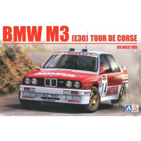 Audi Sport Quattro S1 E2 1986 Montecarlo Rally Beemax Aoshima