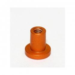 Casquillos sujeción H 4 mm aluminio dorado cabeza hexagonal Scaleauto (4)