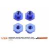 Casquillos sujeción H 2 mm aluminio azul cabeza hexagonal Scaleauto (4)