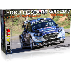 Kit 1/24 Ford Fiesta RS WRC Tour de Corse 2017 Belkits