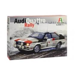 Kit 1/24 Audi Quattro Rally Montecarlo 1981 Italeri